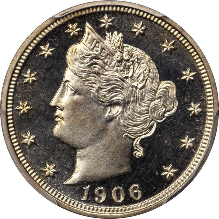 1906 liberty head nickel proof 68 cameo pcgs stacks bowers - Div class background color ...